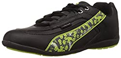Airwalk Boys Sneaker Shoe Black Synthetic Sneakers - 7C UK