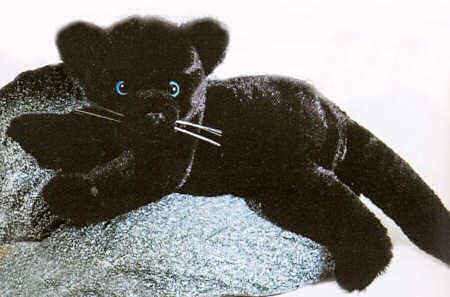 Buy Stuffed Paul Laydown Black Panther