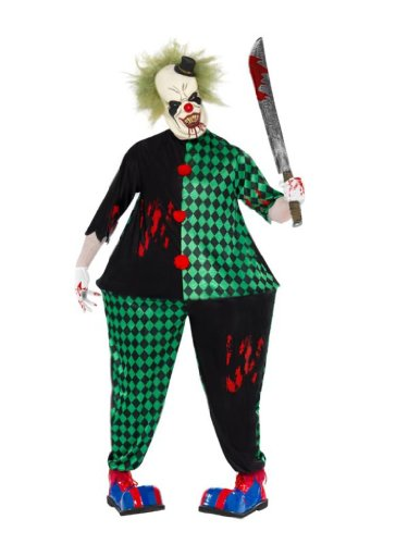 Smiffys Men's Fat Clown Costume