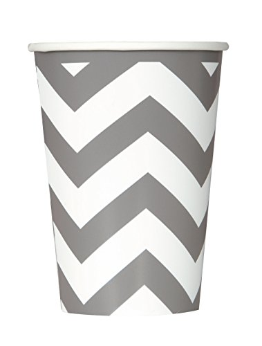 12oz-silver-chevron-paper-cups-pack-of-6