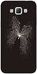 Snoogg Butterly Graphic Solid Snap On - Back Cover All Around Protection For ...