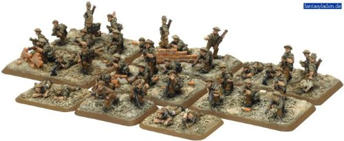 Flames Of War British Commonwealth Rifle Platoon (3 Squads & Hq, Late War) (Flames Of War British Rifle compare prices)