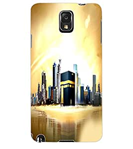 ColourCraft Makkah Madina Back Case Cover for SAMSUNG GALAXY NOTE 3