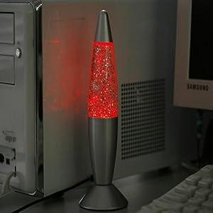 USB/AC Lava Lamp Fashion Multi Color Changing LED Glitter Light by elegantstunning