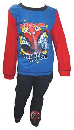 Spiderman Webbed Wonder Little Boy's Pyjamas Age 18-24 Month