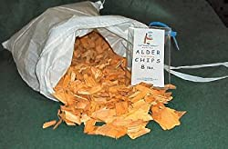 Just Smoked Salmon Western Red Alder Wood Smoking Chips (8 lbs.)