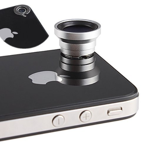 Magnetic iPhone 4 Wide Angle Lens