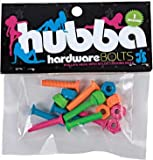Hubba 1 Inch Coloured Skateboard Bolts