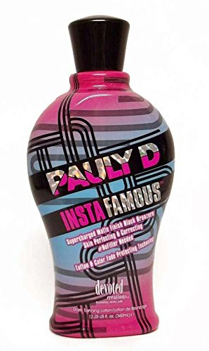 Devoted Creations Pauly D Instafamous Tanning Lotion - 12.25 Oz.