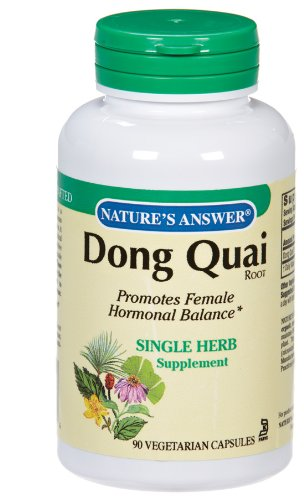 Nature's Answer - Dong Quai Root, 1100 mg, 90