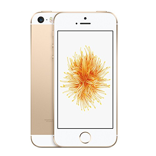 Apple iPhone SE 16GB Factory Unlocked LTE Smartphone - Champagne Gold (Certified...