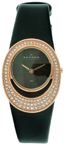 Skagen Leather Ladies Watch 655SRLD