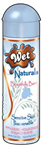 Wet Naturals Enriched Intimacy Gel, Beautifully Bare, 3.3-Ounce Bottle (Pack of 2)