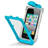 Cover custodia per Apple iPhone 4 / 4S Blu impermeabile
