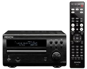 Denon RCD-M39DAB Micro Component CD Receiver System - Black
