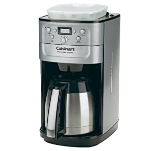 Cuisinart Coffee Maker Turns On But Doesnot Brew : Amazon.com: Cuisinart Grind&Brew Thermal 12-Cup Coffee Maker: Drip Coffeemakers: Kitchen & Dining