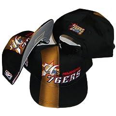 Buy Philadelphia 76ers Vintage Front Line Deadstock Adjustable Snapback Hat Cap by Sports Specialties by Sports Specialties