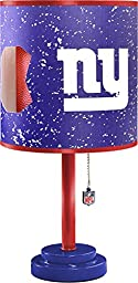NFL New York Giants Table Lamp with Die Cut Lamp Shade