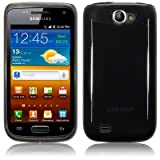 Samsung Galaxy W i8150 TPU Gel Skin / Case / Cover - Smoke Black PART OF THE QUBITS ACCESSORIES RANGE
