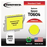 860420 Compatible, Remanufactured, T060420 Ink, 600 Page-Yield, Yellow, Sold as One Each