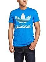 adidas Camiseta Manga Corta Tref Fill Tee (Azul)