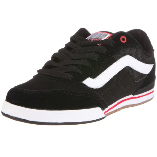 Vans Men's Wylie Trainer Black/Red/White VKYGYW3 7 UK