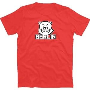 Berliner Eisbaer T-Shirt Rot XXXL