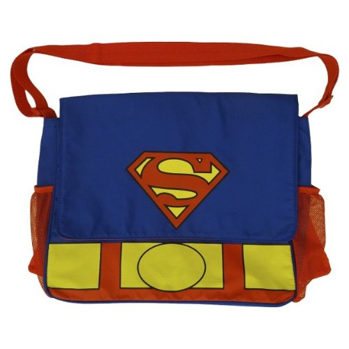 Superman Messenger Bag Diaper Tote - Handbag of Holding for your little superhero - 1