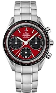 Omega Men's 326.30.40.50.11.001 Speed Master Racing Analog Display Swiss Automatic Silver Watch