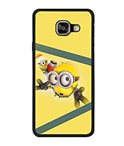 printtech Minions Back Case Cover for Samsung Galaxy A7 (2016) :: Samsung Galaxy A7 (2016) Duos with dual-SIM card slots