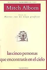 Libro Las Cinco Personas Que Encontraras En El Cielo, de Mitch Albom, Edición en inglés