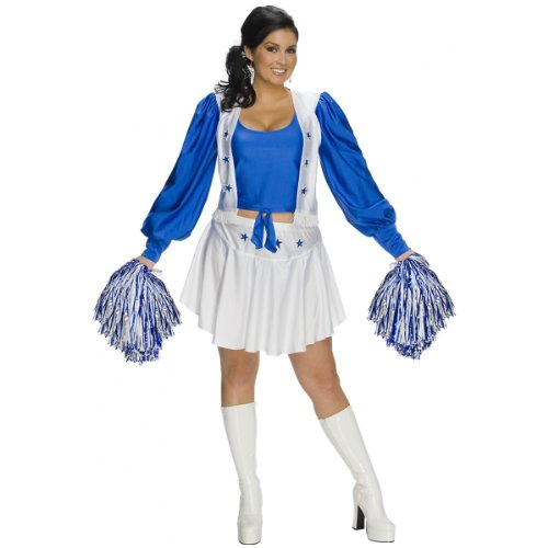 Dallas Cowboys Cheerleader Costume - Plus Size - Dress Size 16-20