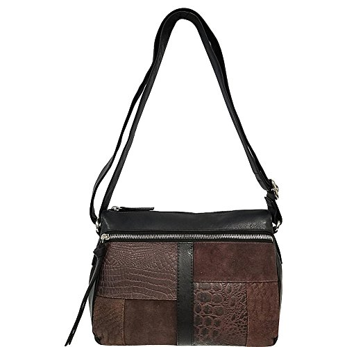 great-american-leatherworks-mixed-media-leather-top-zip-crossbody-dark