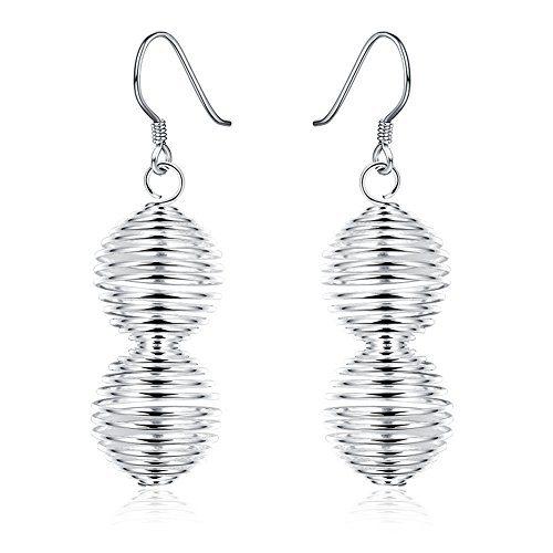 Womens Fashion Simple Spring Dangle Drop Earrings-LanceStore (Hollywood Costumes For Sale Australia)
