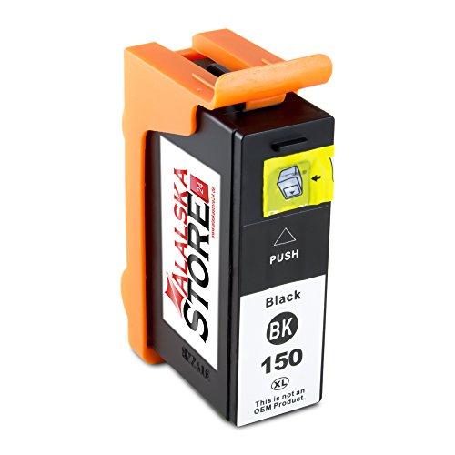 1x Druckerpatrone Tintenpatrone Ersatz für Lexmark 150 XL (1x black ) Ink Cartridge Original WelleSerie