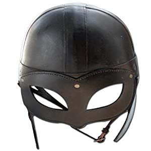 Medieval Beowulf Leather Epic Helmet
