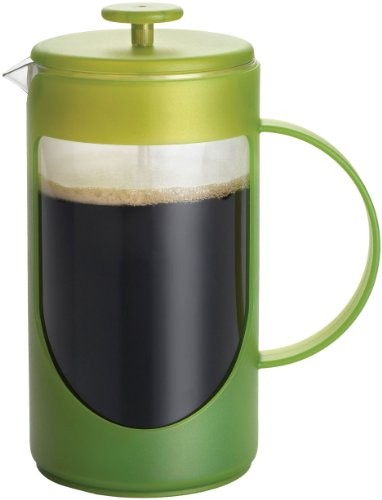 Bonjour Coffee Ami-Matin 8-Cup French Press, Green