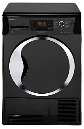 beko dpu 7304 xeb s che linge condensation a noir gros lectrom nager. Black Bedroom Furniture Sets. Home Design Ideas