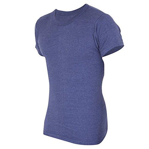 FLOSO® Mens Thermal Underwear Short Sleeve T-Shirt Vest Top (Standard Range)
