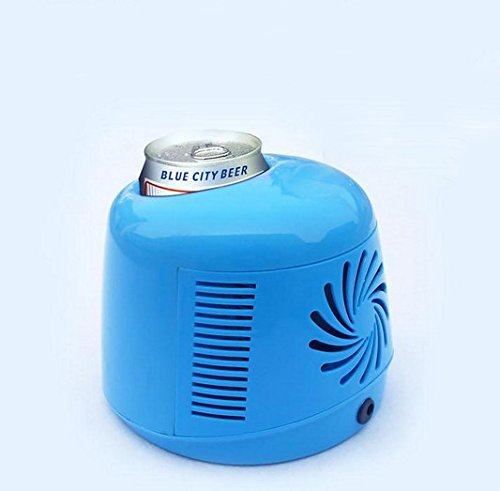 Phoenix Usb 5V Portable One Zip-Top Can Cooler-Mini Car Compact Refrigerator And Warmer front-351940