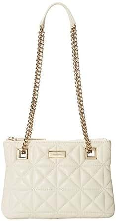 kate spade new york Sedgwick Place Morgan Cross Body Bag,Pale Cream,One Size