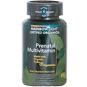 Rainbow Light: Prenatal Organic Multivitamin, 120 Caps