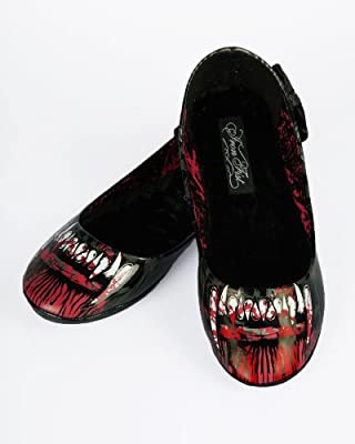Iron Fist Women's Shoes - Wolfbeater Werewolf Ballet Flats