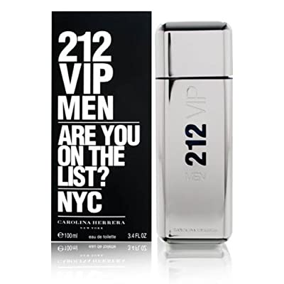 212 Vip By CAROLINA HERRERA For Men
