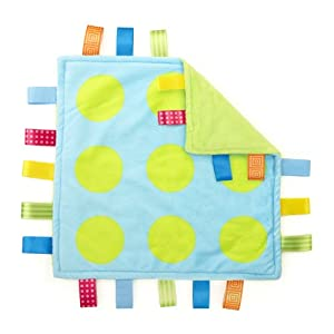 Taggies Colors Blanket, Polka Dot (Discontinued by Manufacturer)