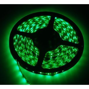 Uniqstore 1M Green 60 Led/1M Flexible Strip Ribbon, 3528 Waterproof Ip 65