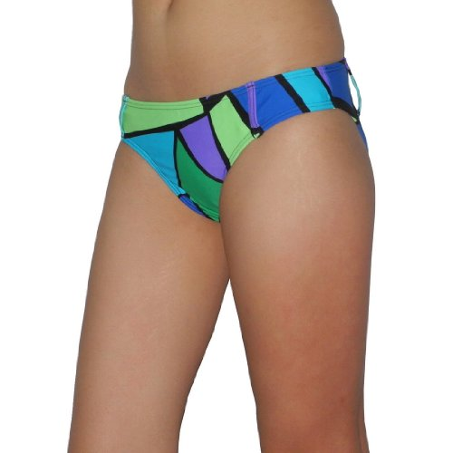 Womens Venus Soft & Smooth Surf Swim Bikini Trunks / Bottom - Quick Dry - Multicolor