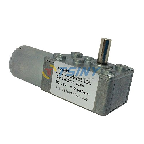 High torque electric dc 12v gear motor with low speed 0 for Low rpm electric motor for rotisserie