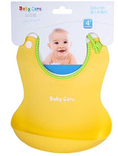 Soft and Waterproof Baby Bibs of Four Colors for Boys and Girls