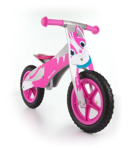 Milly Mally 1698 - Bicicletta senza pedali da equilibrio per bambini